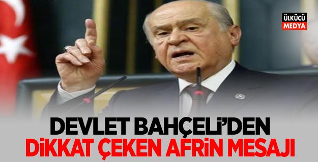 Bahçeli: Ok Yaydan Çıkmış, Türk'ün Sabrı Artık Tükenmiştir
