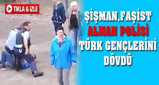 Alman Polisi Türk Gençleri Dövdü !