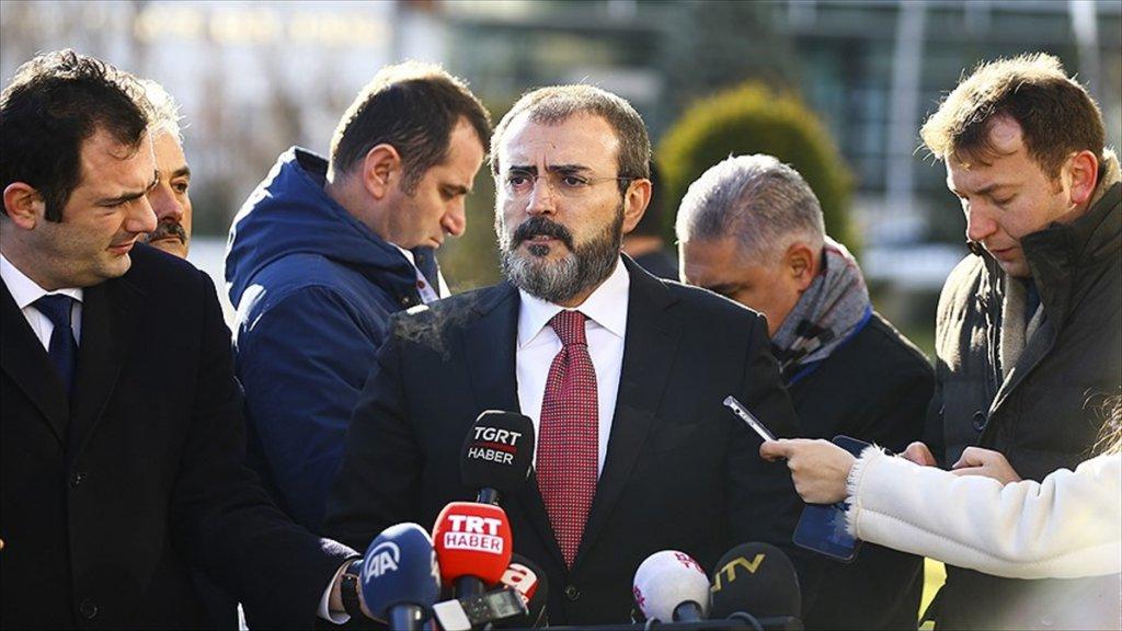 AKP Sözcüsü Ünal: Abd, Pkk'yı Silahlandırdığını İtiraf Etmiş Oldu