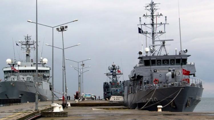 NATO'nun savaş gemileri Türkiye'de