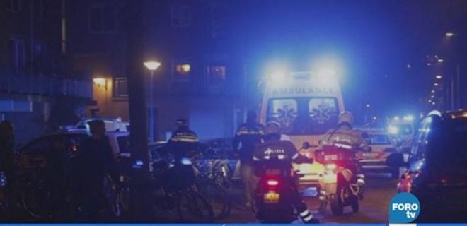 Amsterdam'da kalabalığa ateş açıldı: Ölü ve yaralılar var
