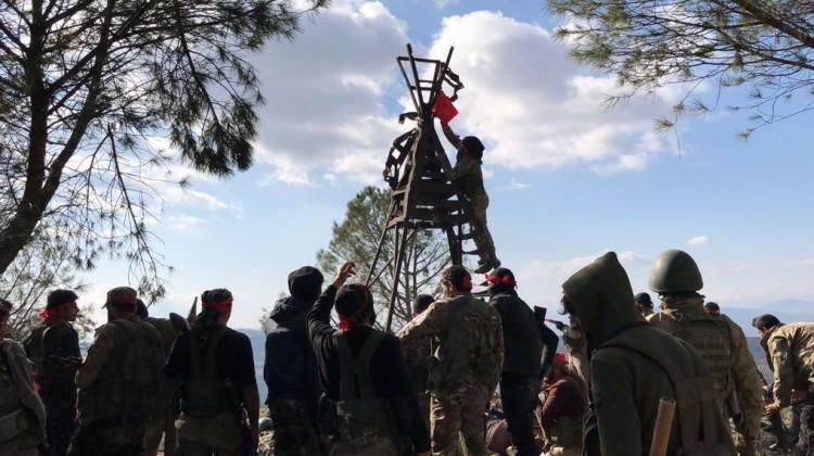 Afrin'den müjde! Burseya Dağı'nda kontrol tamamen alındı