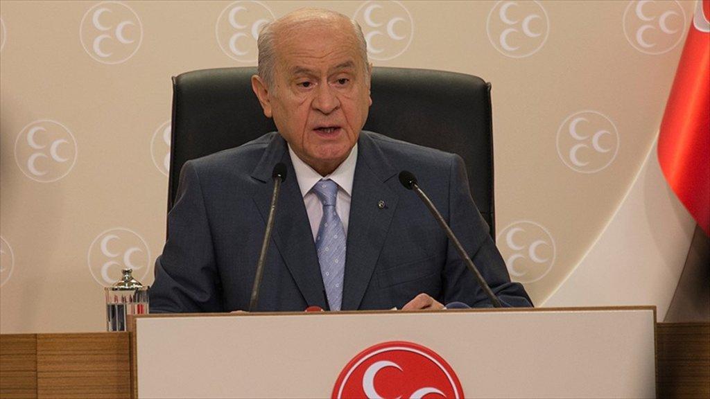 MHP Lideri Bahçeli: CHP PKK'yla Yatmış, PYD-YPG'yle Uyanmıştır