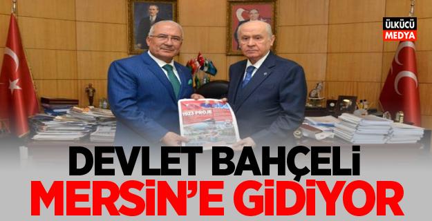 Devlet Bahçeli: Pazar Günü Mersin'e Gidiyor