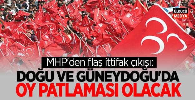 MHP'den flaş ittifak çıkışı: Doğu ve Güneydoğu'da oy patlaması olacak