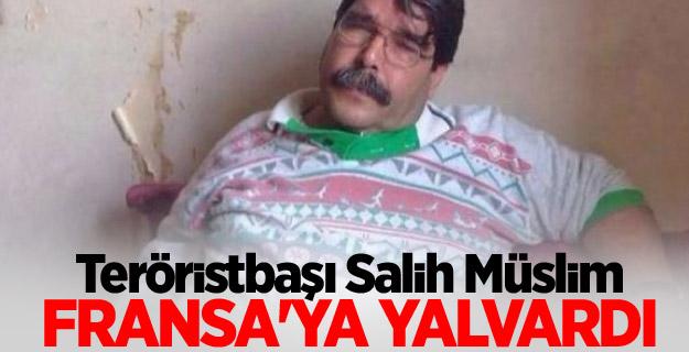 Teröristbaşı Salih Müslim Fransa'ya yalvardı