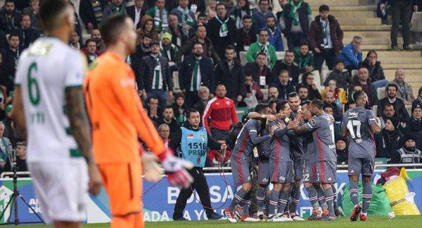Bursaspor (2-2) Beşiktaş