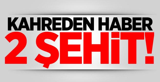Afrin ve Kilis'te 2 asker şehit oldu