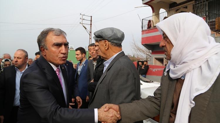 MHP Genel Başkan Yardımcısı Öztürk Hatay'da: