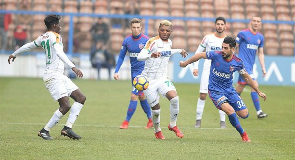 Kardemir Karabükspor (1-0) Aytemiz Alanyaspor