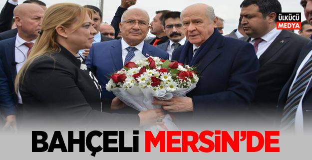 MHP Lideri Devlet Bahçeli Mersin'de