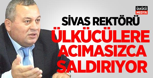MHP'li Enginyurt'tan Sivas Üniversitesi Rektörüne çok sert tepki