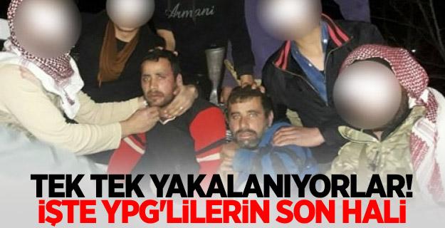 YPG'li teröristler böyle yakalandı...