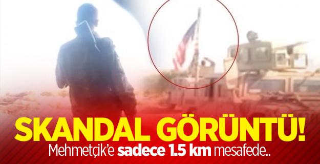 Mehmetçik'e Sadece 1,5 km Uzaklıkta Skandal Görüntüler