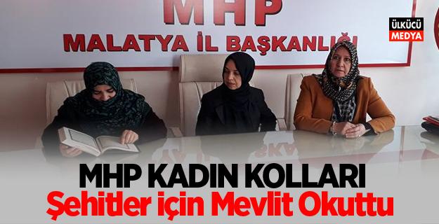 MHP Kadın Kolları Şehitler İçin Mevlit Okuttu