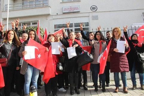 MHP'li kadınlar Afrin için askerlik dilekçesi verdi...