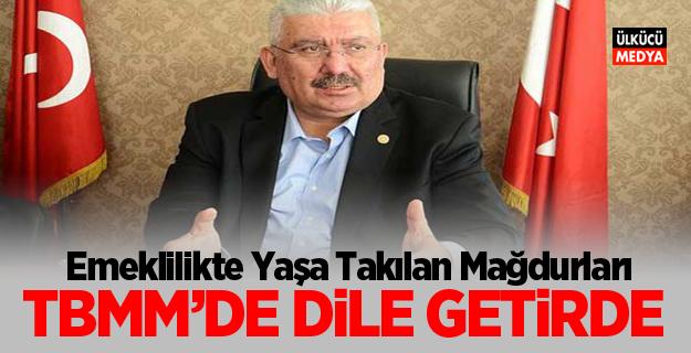 MHP'li Yalçın: Emeklilikte Yaşa Takılan Mağdurları TBMM'de Dile Getirdi
