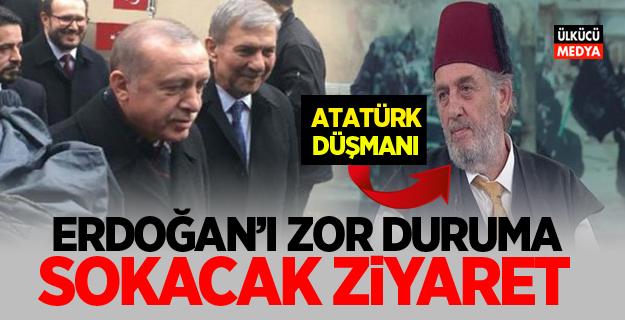 Erdoğan'ı zor duruma sokacak ziyaret!