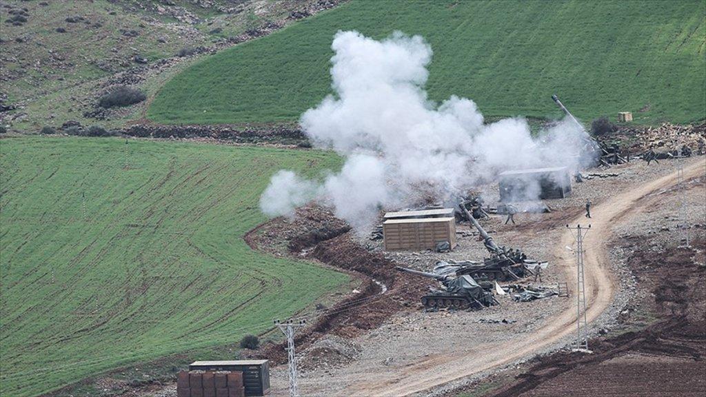 Zeytin Dalı Harekatı'nda 1614 Terörist öldürüldü