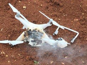 Afrin'de PYD/PKK'lıların 'Drone'u Düşürüldü