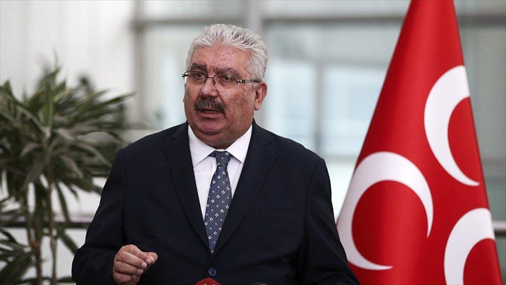 MHP Genel Başkan Yardımcısı Yalçın: Üç Parti İttifaklarına Darbe İttifakı Desinler