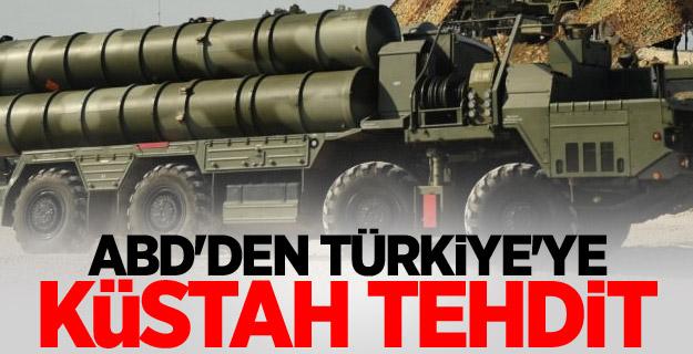 ABD'den Türkiye'ye küstah tehdit
