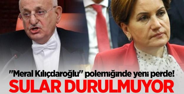 Meclis Başkanı'ndan Meral Akşener'e Ceza Davası