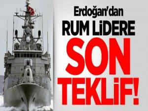 Erdoğan'dan Kıbrıs Rum Kesimine Son Teklif!