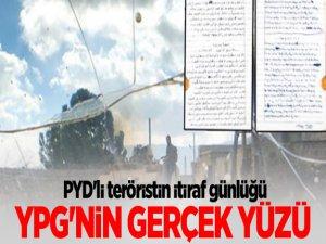PYD'linin İtiraf Günlüğü