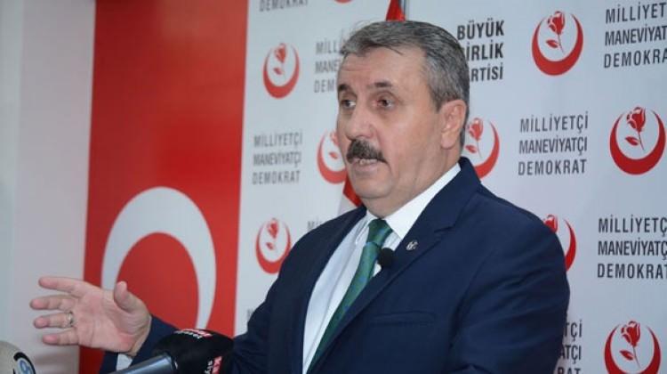 Mustafa Destici: Tavrımız net, ittifakın yanındayız