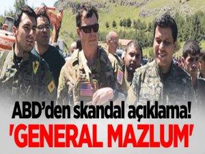 ABD'den Skandal 'General Mazlum' Açıklama!