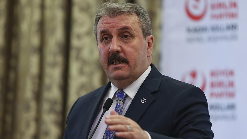 BBP Genel Başkanı Destici: AK Parti ile MHP ittifakının yanındayım