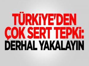 Türkiye'den Yunanistan'a Çok Sert Tepki: Derhal Yakalayın