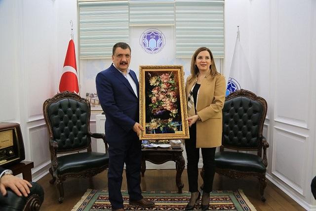 MHP İstanbul Milletvekili Erdem, Başkan Gürkan'ı Ziyaret Etti