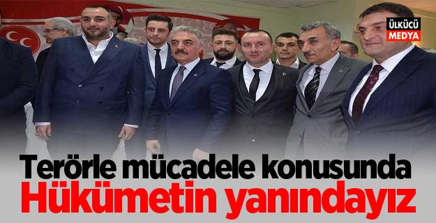 MHP Genel Sekreteri Büyükataman: Terörle mücadele konusunda hükümetin sonuna kadar yanındayız