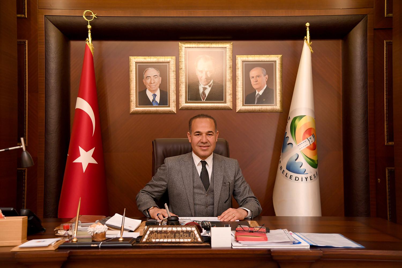 """Başkan Sözlü: """"Türk'ün bağımsızlığı 97 yıl önce Dünya'ya ilan edilmiştir"""""""