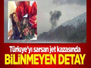 Türkiye'yi sarsan jet kazasında bilinmeyen detay