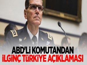 ABD'li Komutandan İlginç Türkiye Açıklaması
