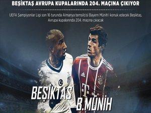 Beşiktaş Avrupa'da 204'üncü Maçına Çıkıyor