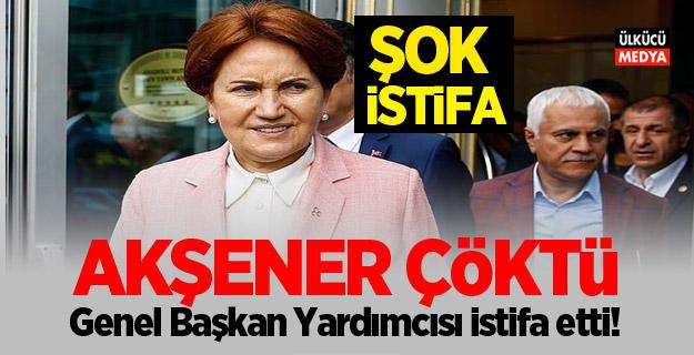 Meral Akşener çöktü: Genel Başkan Yardımcısı istifa etti!