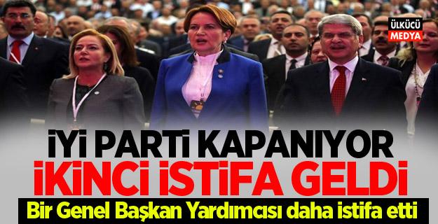 İYİ Parti'de ikinci Deprem! Bir Genel Başkan Yardımcısı daha istifa etti