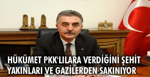 MHP'den Gaziler günü açıklaması...