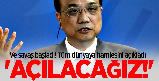 Çin'den kritik mesaj! 'Açılacağız'