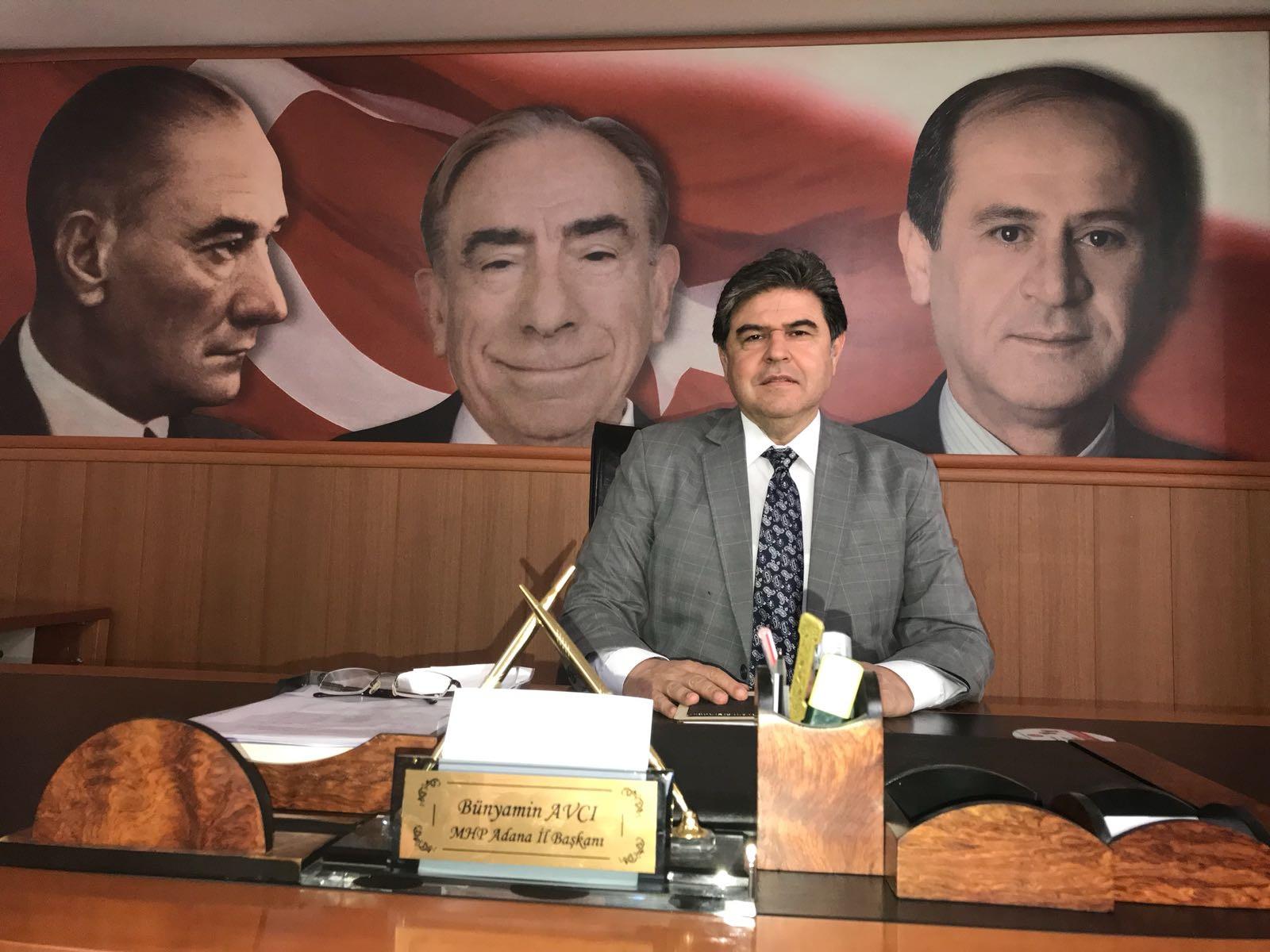 MHP Adana İl Başkanı Bünyamin Avcı'dan Nevruz Bayramı mesajı...