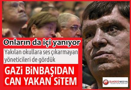 """GAZİLER GÜNÜNDE """"GAZİ"""" İSYANI...."""