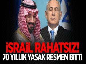 İsrail rahatsız! 70 yıllık yasak resmen bitti