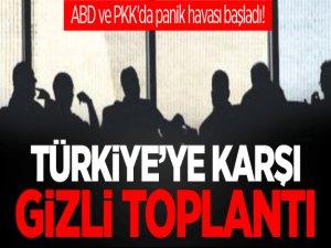 Türkiye'ye karşı ABD-PKK gizli toplantıları