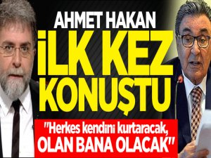 Satış sonrası Ahmet Hakan ilk kez konuştu