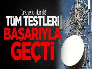 Tüm testleri başarıyla geçti. Türkiye'de bir ilk!