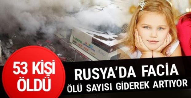 Rusya'da yangın faciası: 53 ölü...